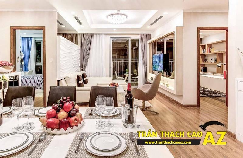 Thiết kế trần thạch cao cho căn hộ chung cư Park Hill