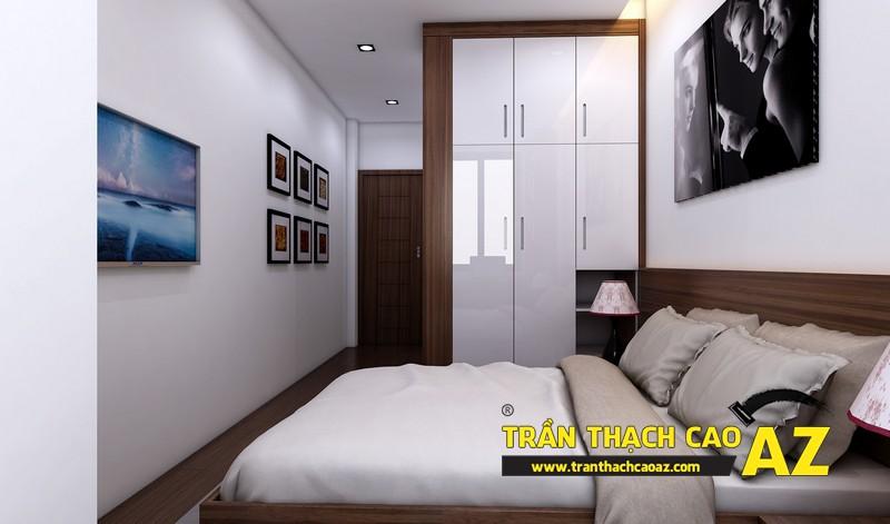 Phương án thiết kế trần thạch cao phòng ngủ đẹp cho người con trai lớn 03