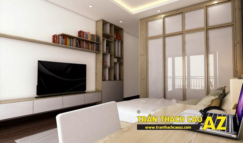 Phương án thiết kế trần thạch cao phòng ngủ dành cho con trai tuổi vị thành niên 01