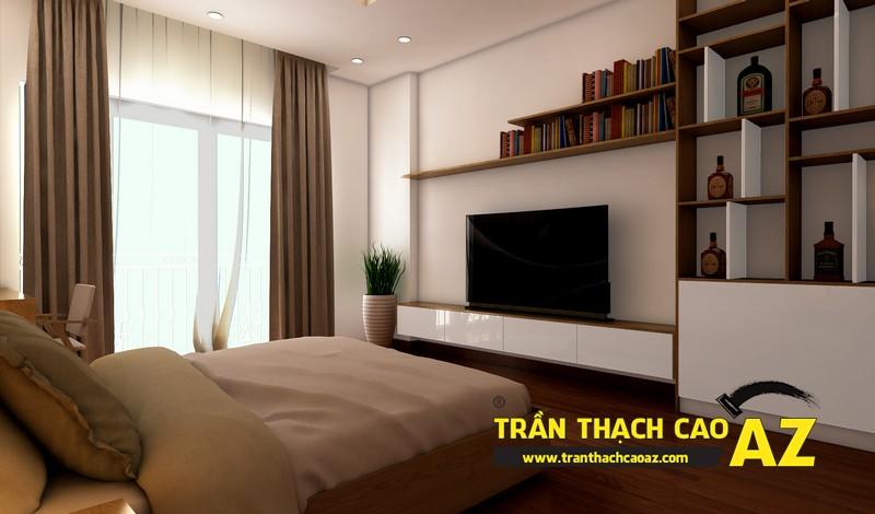 Phương án thiết kế trần thạch cao phòng ngủ dành cho con trai tuổi vị thành niên 04