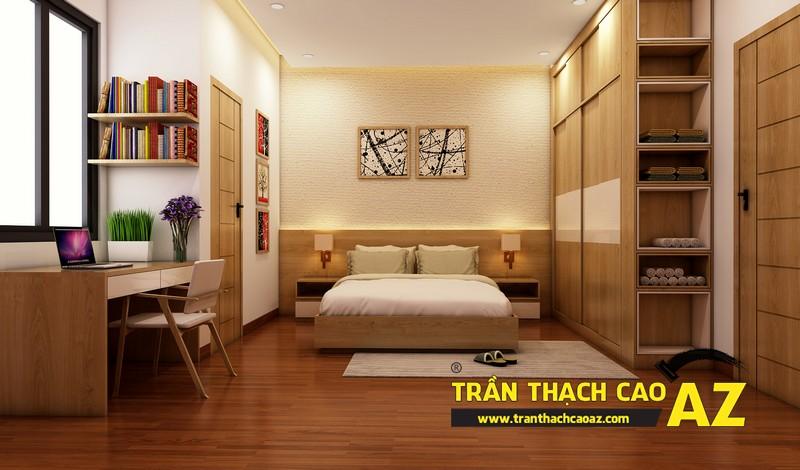 Phương án thiết kế trần thạch cao phòng ngủ dành cho con trai tuổi vị thành niên 03