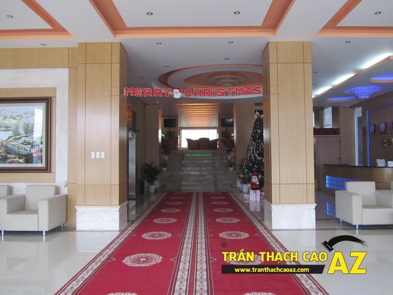 Thiết kế trần thạch cao sảnh đẹp sang trọng, hiện đại của Khách sạn 2-9 Hà Nam - 03