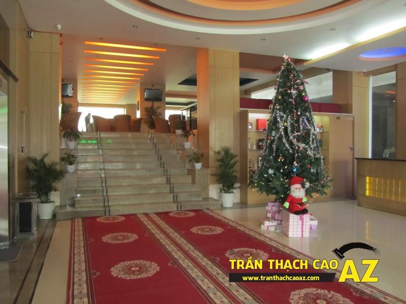 Thiết kế trần thạch cao sảnh đẹp sang trọng, hiện đại của Khách sạn 2-9 Hà Nam - 04