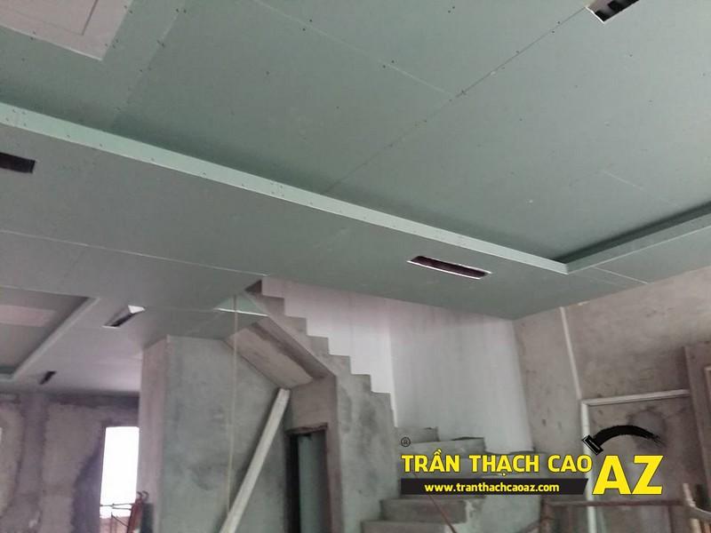 Trần thạch cao cho biệt thự tại Nguyễn Chí Thanh