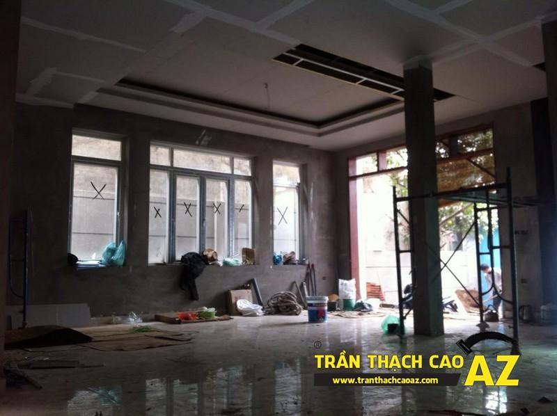 Trần thạch cao cho biệt thự Nghi Tàm, Hà Nội