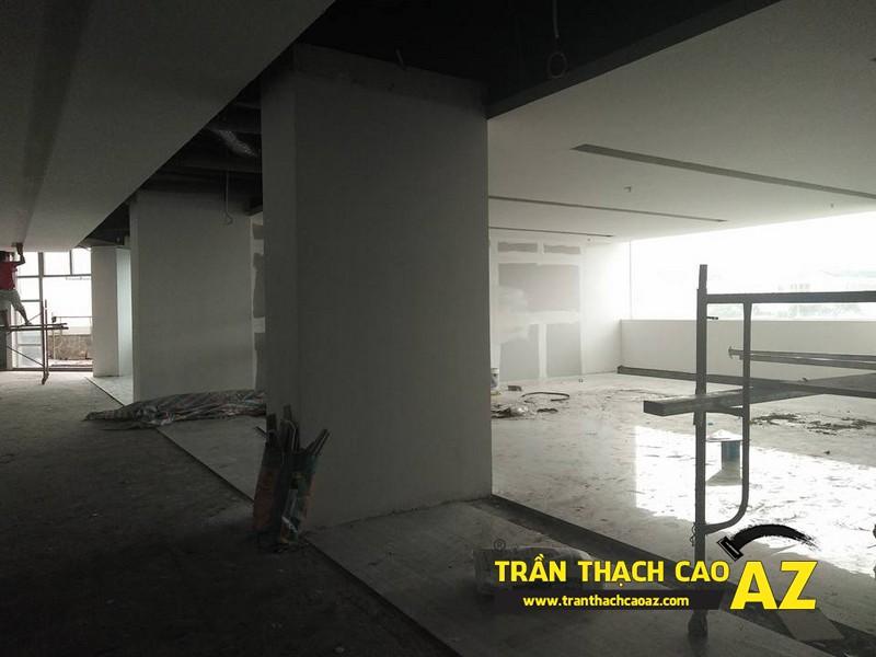 Trần thạch cao cho siêu thị điện máy Pico