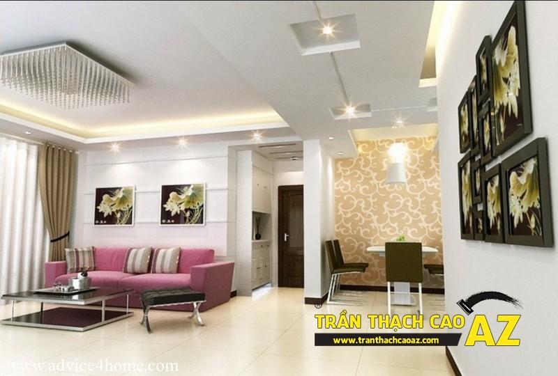 Trần thạch cao: giải pháp chống nóng hoàn hảo cho tầng áp mái chung cư 02