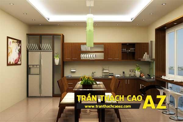 Trần thạch cao giật cấp hở chuyên nghiệp nhất Hà Nội