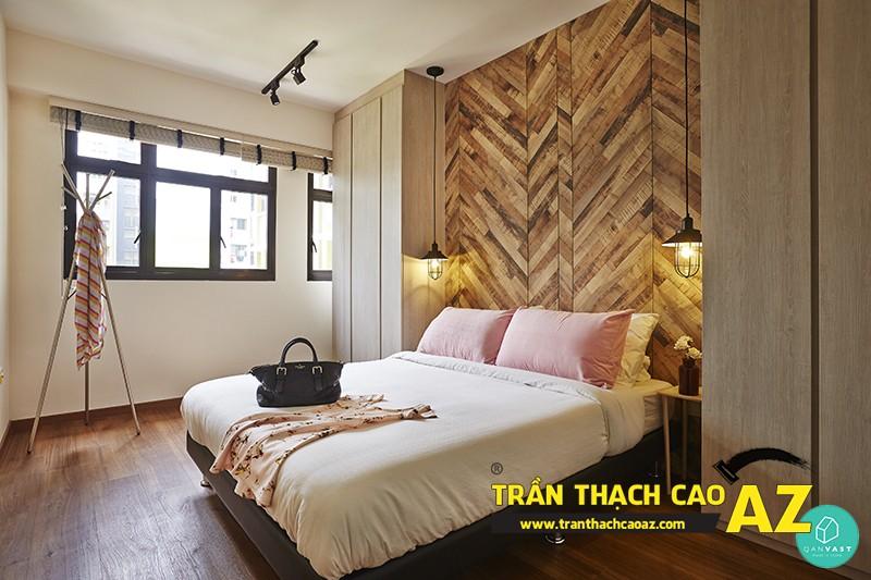 Thiết kế trần thạch cao phòng ngủ đẹp giúp vợ chồng son trăm năm hạnh phúc 04