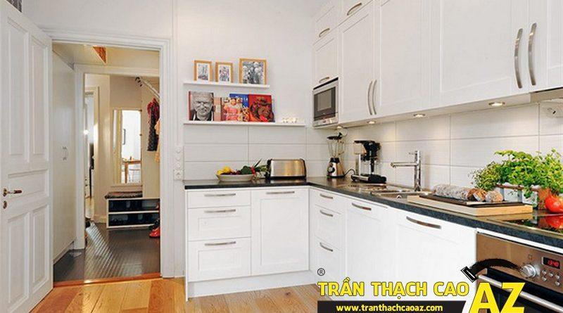 Các bước treo tủ bếp đúng kỹ thuật đảm bảo độ bền vách thạch cao