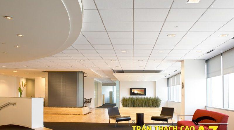 Không gian văn phòng cực chuyên nghiệp nhờ sử dụng trần thạch cao