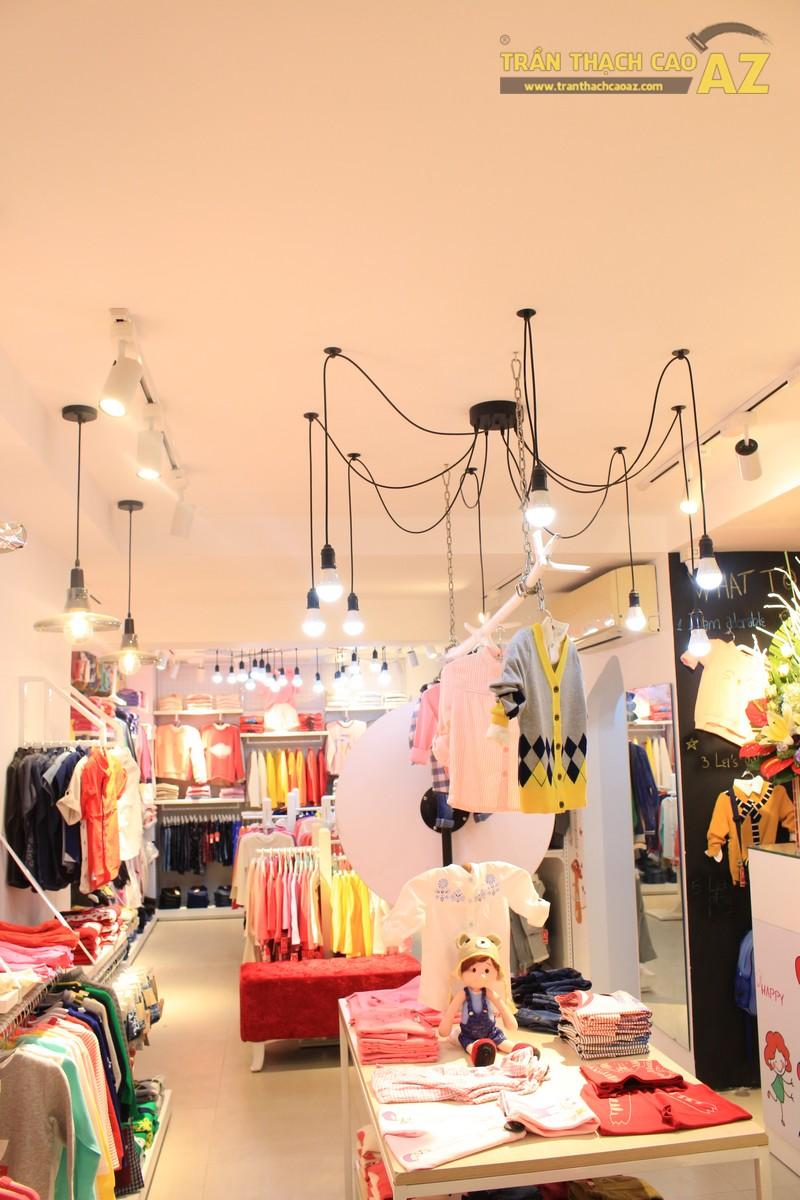 Cách bố trí đèn trần thạch cao đẹp độc đáo của shop KUTIE BY WINNY Phạm Ngọc Thạch - 02