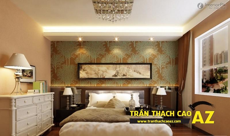 Mẫu trần thạch cao phòng ngủ đẹp dành cho không gian khoảng 15m2 - 09