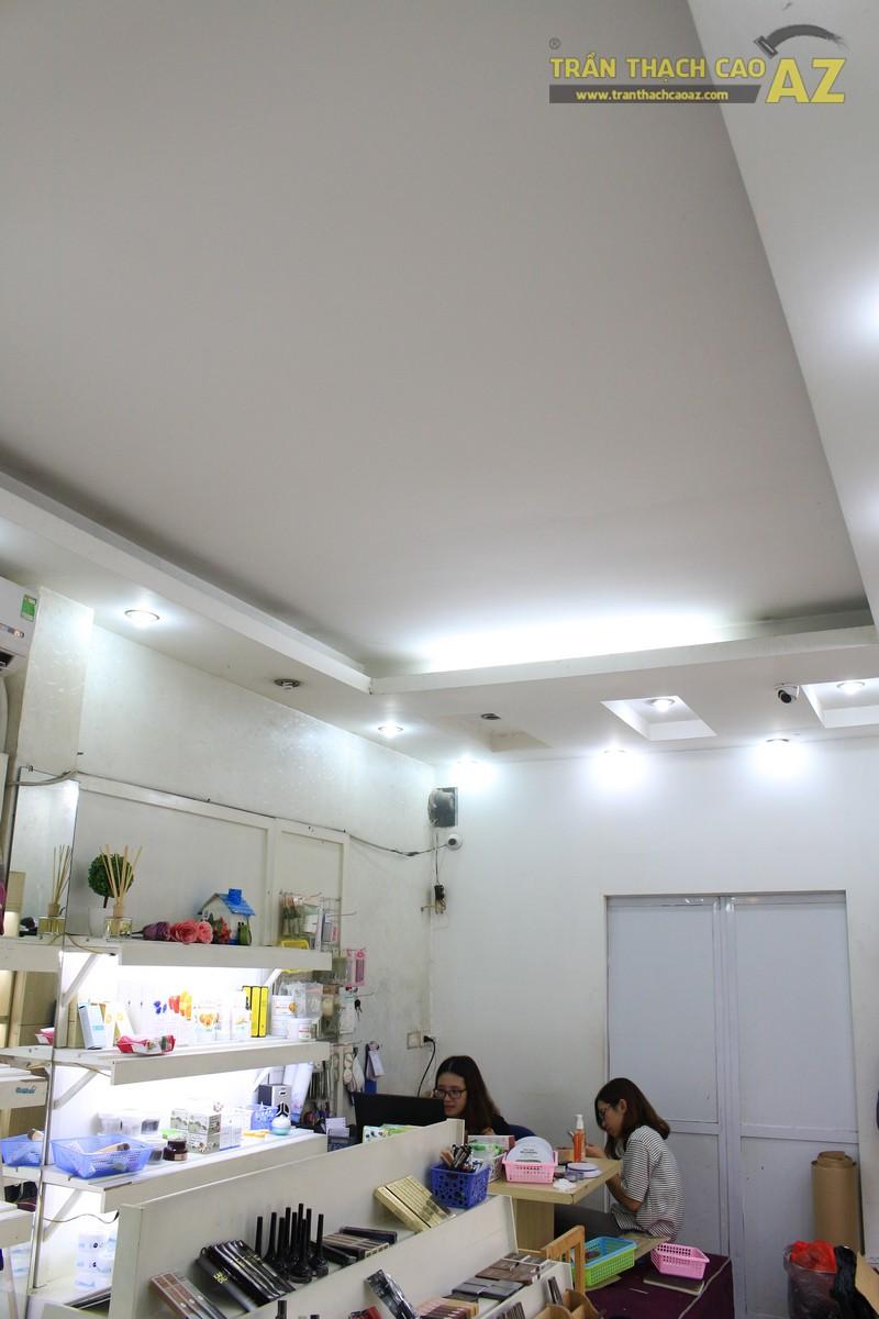 Cần tìm đơn vị thi công trần thạch cao cho cửa hàng có diện tích nhỏ tại Hà Nội