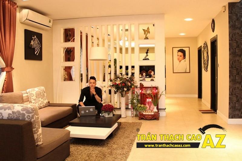 Cận cảnh phòng khách của ca sĩ Cao Thái Sơn