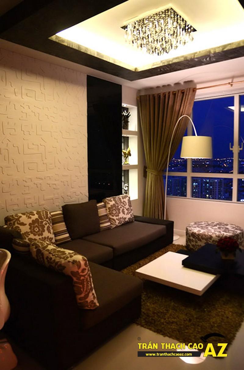 Phòng khách tại căn hộ cũ
