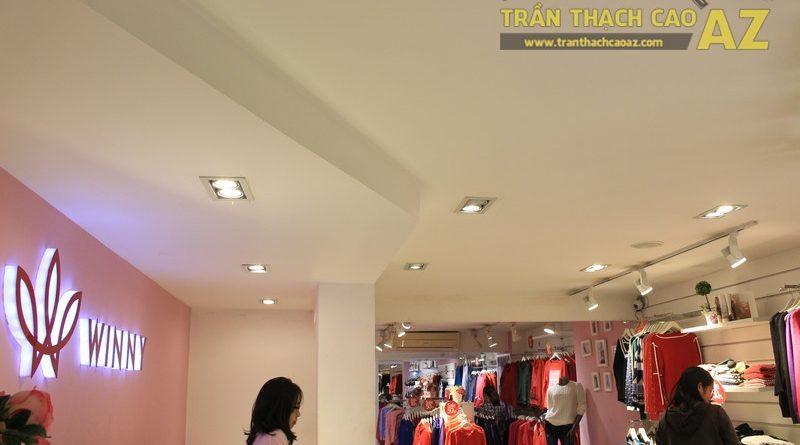 Chọn mẫu trần thạch cao đơn giản, đẹp nhẹ nhàng như shop Winny Phạm Ngọc Thạch
