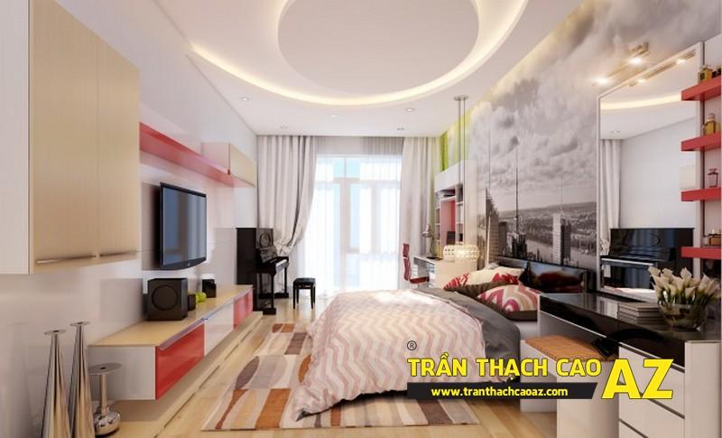 """Hâm nóng """"chuyện yêu"""" bằng những mẫu trần thạch cao phòng ngủ đẹp tuyệt đỉnh"""