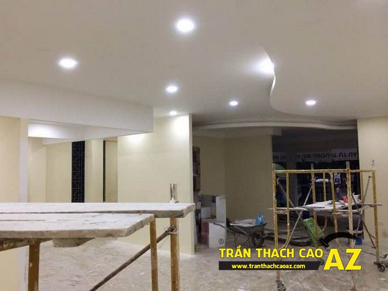 Hoàn thiện thi công trần thạch cao cho cơ sở Tổng đại lý Prudential tại Hà Nội 07