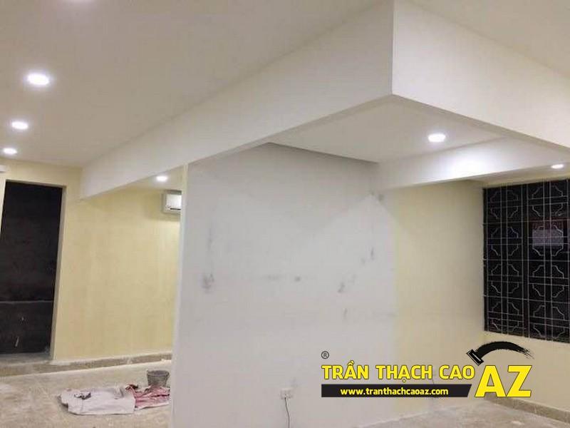 Hoàn thiện thi công trần thạch cao cho cơ sở Tổng đại lý Prudential tại Hà Nội 06