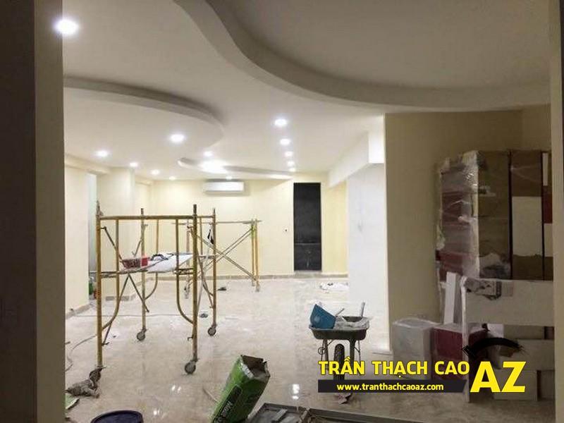 Hoàn thiện thi công trần thạch cao cho cơ sở Tổng đại lý Prudential tại Hà Nội 04