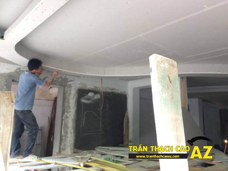 Hoàn thiện thi công trần thạch cao cho cơ sở Tổng đại lý Prudential tại Hà Nội 01