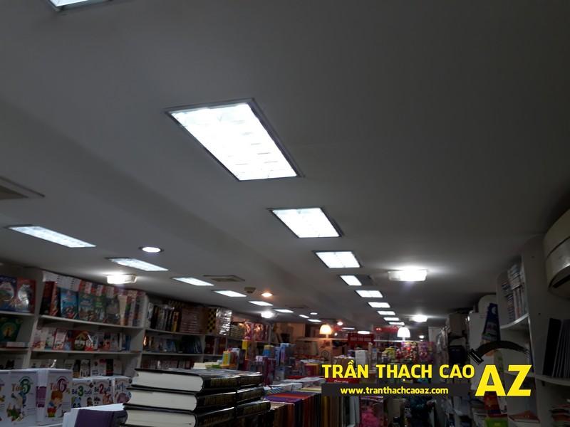 Hoàn thiện trần thạch cao của nhà sách Sự Thật tại số 17 Đinh Lễ, Tràng Tiền - 02