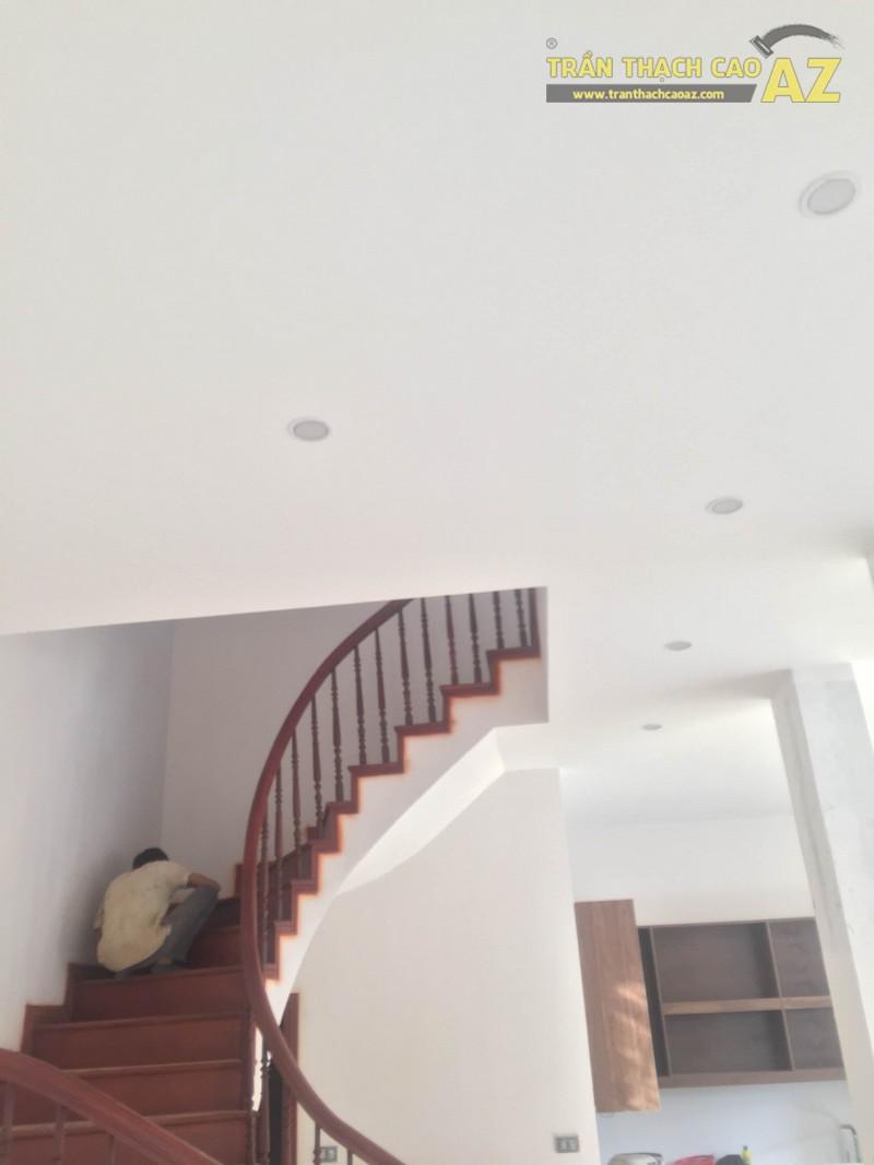 Hoàn thiện mẫu trần thạch cao đơn giản mà đẹp nhà anh Hiếu - 07