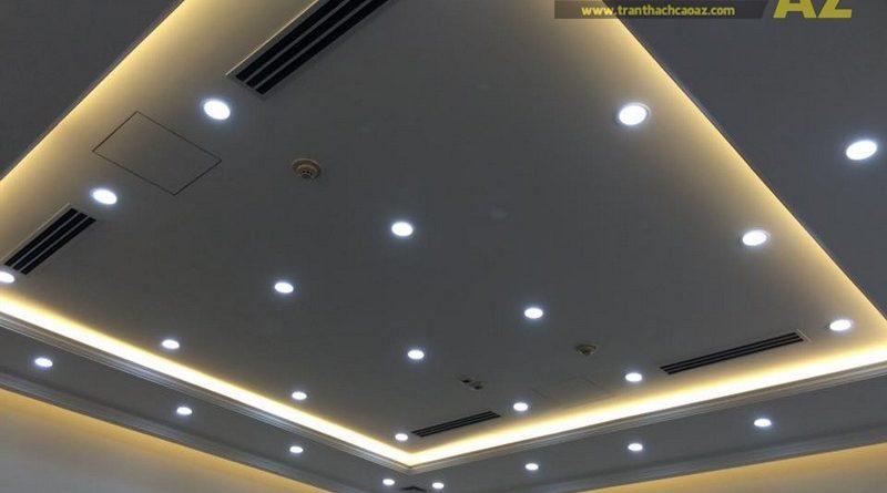 Mẫu trần thạch cao phòng giám độc đẹp hiện đại của Công ty cổ phần Success Food Việt Nam