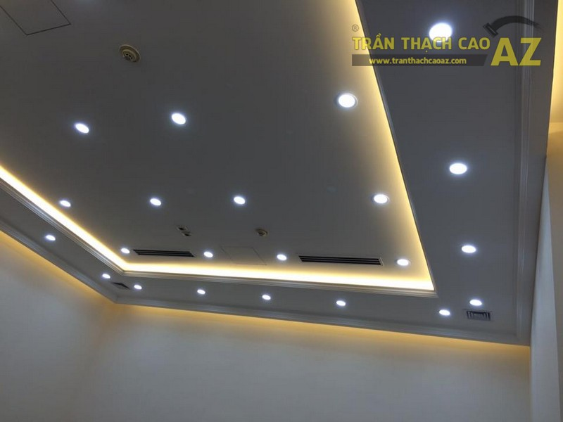 Mẫu trần thạch cao phòng giám đốc đẹp hiện đại của Công ty CP Success Food Việt Nam - 04