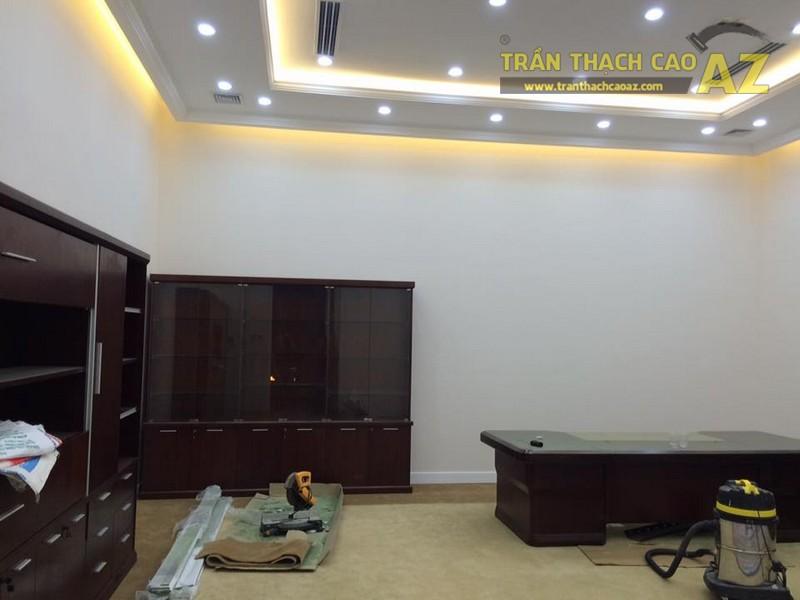 Mẫu trần thạch cao phòng giám đốc đẹp hiện đại của Công ty CP Success Food Việt Nam - 05