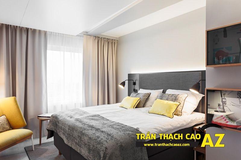 Mẫu trần thạch cao phòng ngủ nhà chung cư - 04