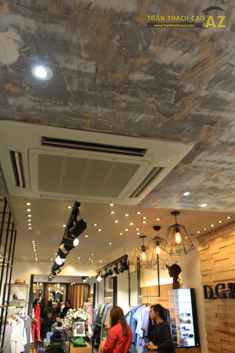 Mẫu trần thạch cao shop đẹp cá tính của D.CHIC Phạm Ngọc Thạch - 03