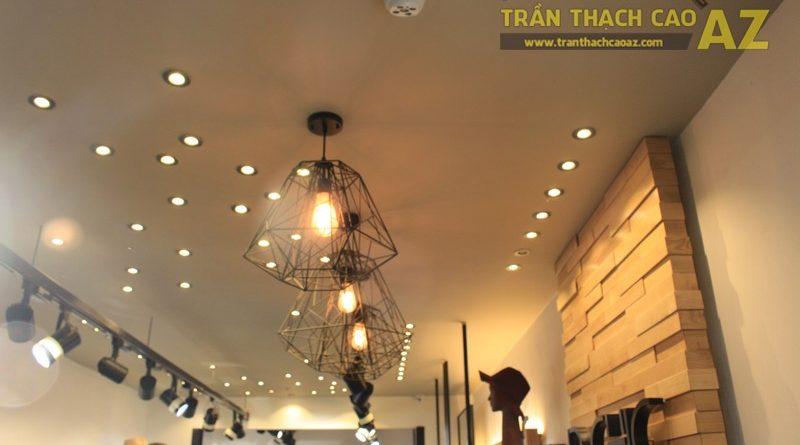 Mẫu trần thạch cao shop đẹp cá tính của D.CHIC số 104B1, Phạm Ngọc Thạch