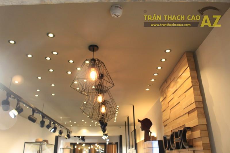 Mẫu trần thạch cao shop đẹp cá tính của D.CHIC Phạm Ngọc Thạch - 05