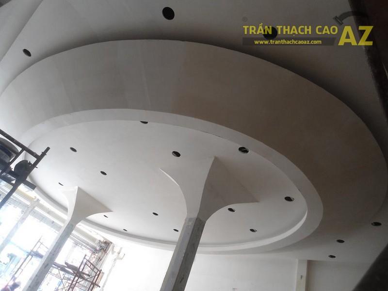 Ngắm thiết kế, tạo hình trần thạch cao đẹp cho sảnh khách sạn