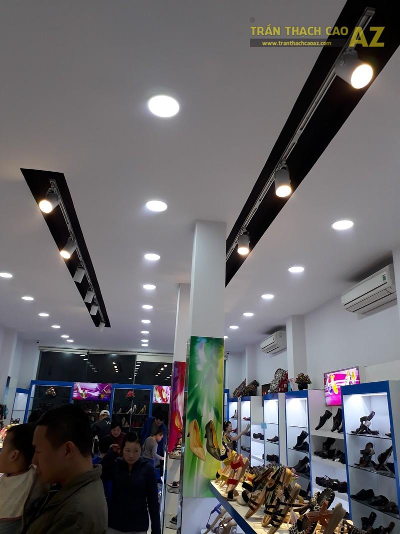 Ngắm thiết kế trần thạch cao tại cửa hàng bitits chùa Bộc, Đống Đa, Hà Nội