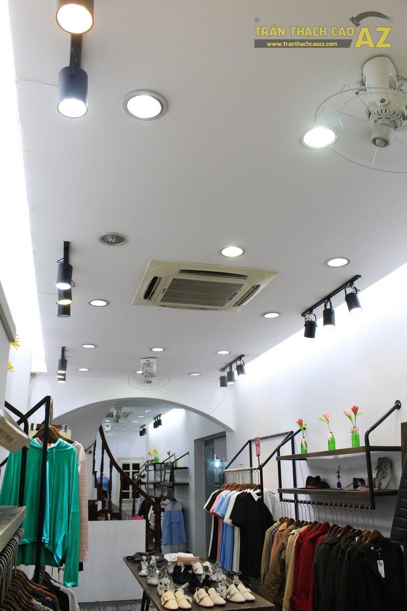 Ngắm thiết kế trần thạch cao cửa hàng thời trang Khói, 231 chùa Bộc