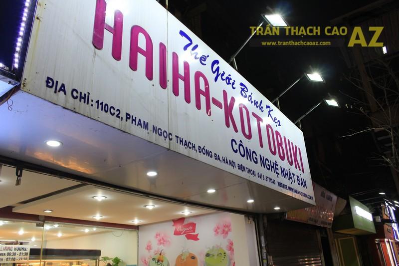 Ngắm thiết kế trần thạch cao của Thế giới bánh kẹo Hai Ha - Kotobuki, Phạm Ngọc Thạch - 07