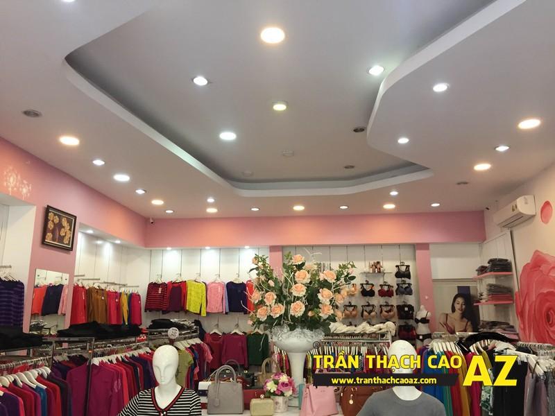 Shop Winny Hà Nam siêu đẹp, siêu hút khách với tạo hình trần thạch cao giật cấp 03