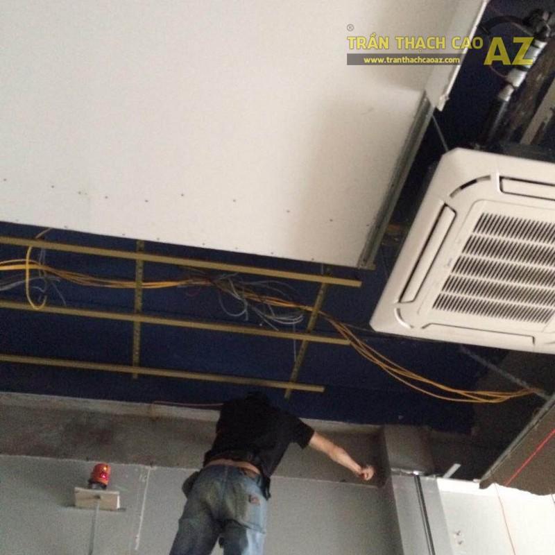 Sửa  chữa trần thạch cao cho nhà anh Vũ tại Cầu Giấy, Hà Nội