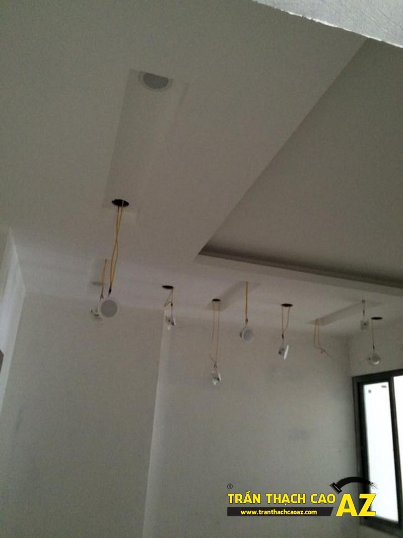 Thi công trần thạch cao cho căn hộ chung cư Golden West
