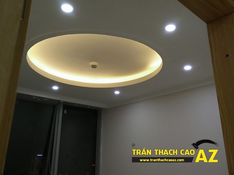 Thi công trần thạch cao cho căn hộ chung cư Kiến Hưng, Hà Đông, Hà Nội