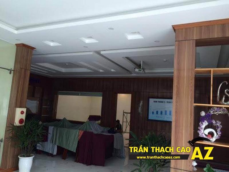Thi công trần thạch cao cho công ty TNHH Nam Thuận