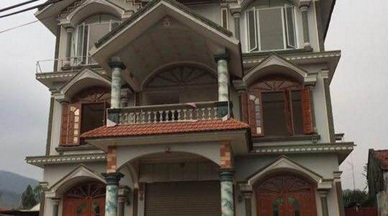 Thi công trần thạch cao cho nhà biệt thự tại Khe Sim, Đông Mai, Quảng Ninh