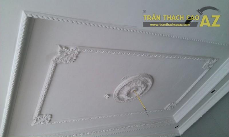 Thi công trần thạch cao theo phong cách cổ điển cho nhà anh Thái tại Hải Phòng