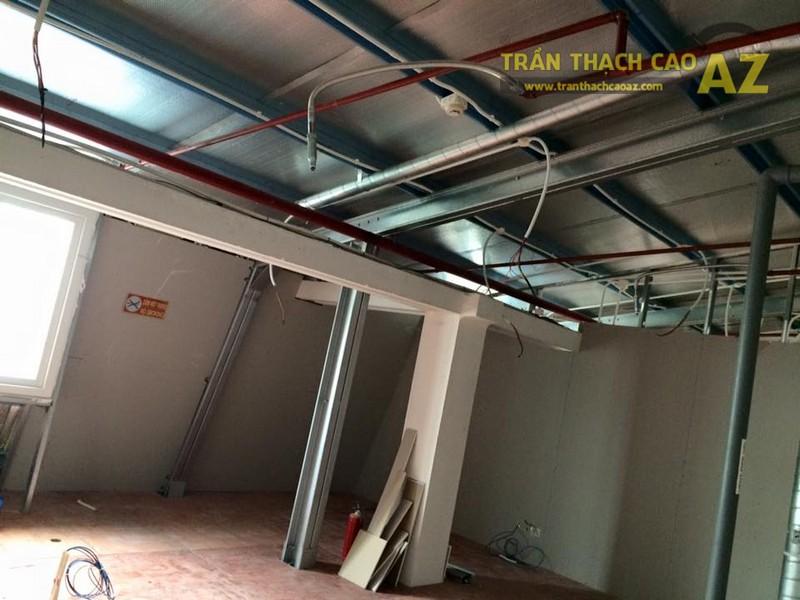 Thi công trần thạch cao văn phòng tại tầng 16, tòa Center Building - 01