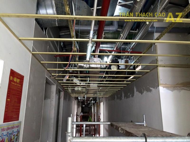 Thi công trần thạch cao văn phòng tại tầng 16, tòa Center Building - 03