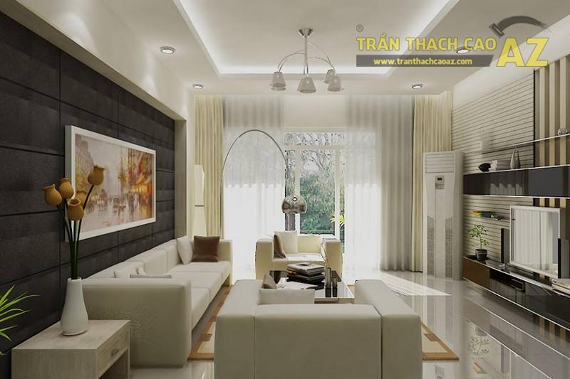 Thiết kế trần thạch cao cho căn hộ chung cư Mandarin Garden