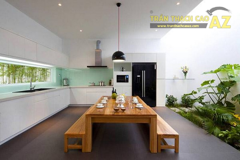 Thiết kế trần thạch cao cho căn hộ chung cư Moon City Vinhomes